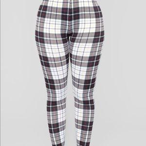 693175306fd6ad Fashion Nova Pants | New Fashionnova Payton Plaid Leggings | Poshmark